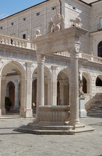 Well In Monte Cassino, Italy, ...