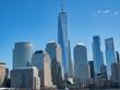 Buildings Landscape from Cruiser at Manhattan, New York City クルーザーから見たニューヨークのビル群