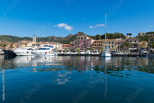 Fotografie, Obraz  vista di porto Azzurro Isola D'Elba