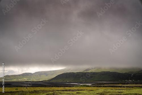 Spoed Foto op Canvas Donkergrijs Iceland