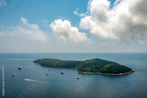Fototapeta Wyspa Miłości - Lokrum obraz