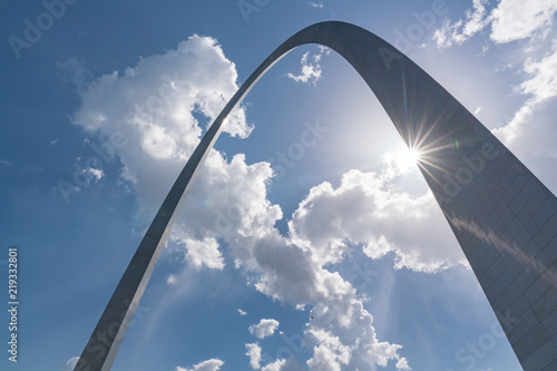 St Louis Missouri Gateway Arch Canvas Print