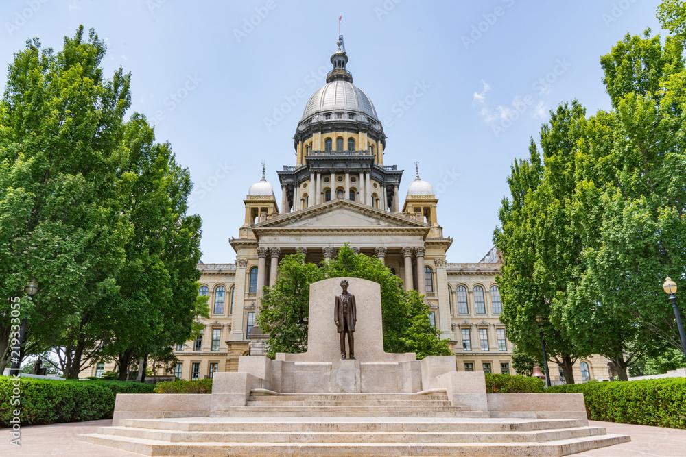 Fototapety, obrazy: Illinois State Capital Building
