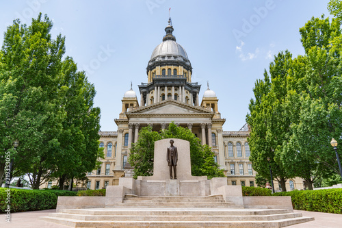 Fotografie, Obraz Illinois State Capital Building