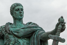 Constantine The Great Statue, York, England
