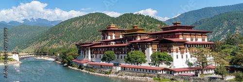 Canvas-taulu Punakha Dzong - Bhutan