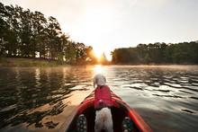 Kayaking Puppy
