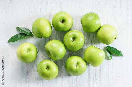 Fototapeta jabłko grupa-jablek