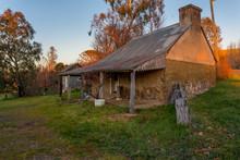 Rustic Old Austalian Stone Farm Building
