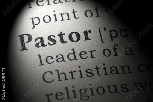 Fotografía definition of pastor