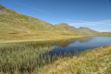 Red Tarn Beneath Crinkle Crags, Lake District