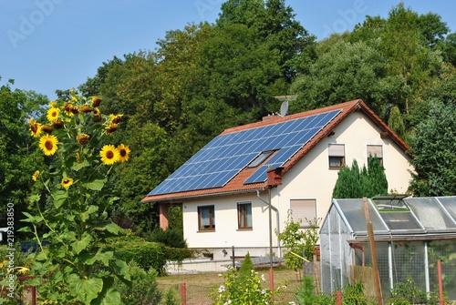 Leinwand Poster  Odnawialne źródła energii