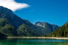 Predil Lake (Lago Del Predil) And Julian Alps - Friuli Italy