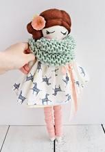 Lovely Handmade Doll Wearing C...