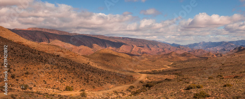 Landscape on road to Weltevrede, Prince Albert, South Africa