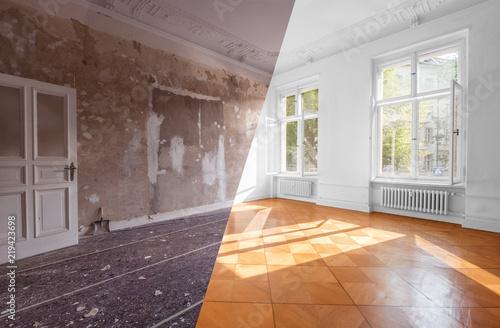 Fotografía apartment room renovation concept