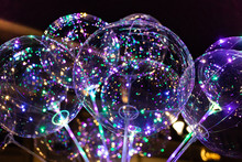 LED Transparent Balloon With M...