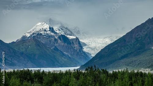 Fotografie, Obraz  Glacier view in Wrangell-st. Elias national park