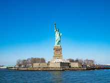 Statue Of Liberty From Cruiser...