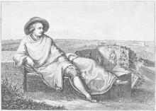 Goethe In Der Römischen Campa...
