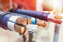Large Copper Power Cable In Se...