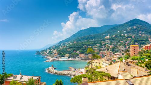 Fotografie, Obraz aerial view of amalfi coast, Italy
