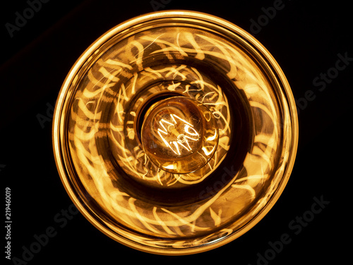 Photo  Bronze Light