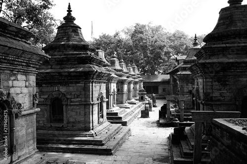 Spoed Foto op Canvas Bedehuis Pashupatinath Temple, Kathmandu