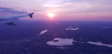 Aerial View Of The City Of Bos...