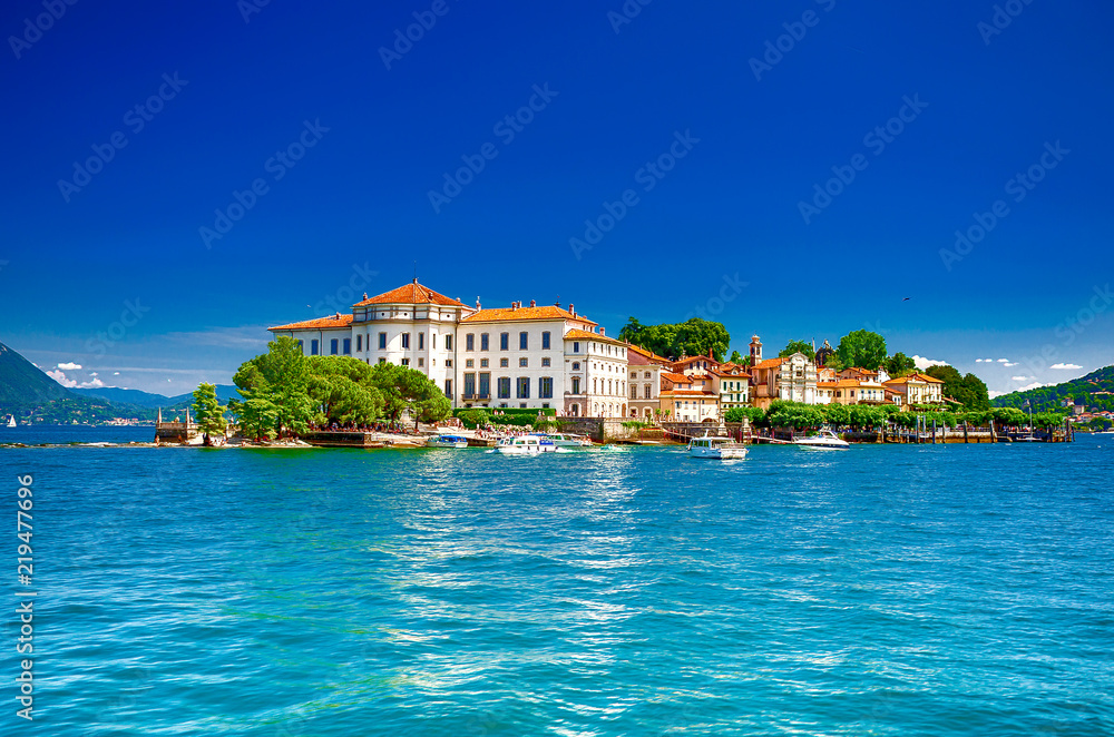 Fototapety, obrazy: Isola Bella, Borromäische Inseln, im Lago Maggiore, Piemont, italien