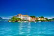 canvas print picture - Isola Bella, Borromäische Inseln, im Lago Maggiore, Piemont, italien