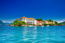 Isola Bella, Borromäische Inseln, Im Lago Maggiore, Piemont, Italien