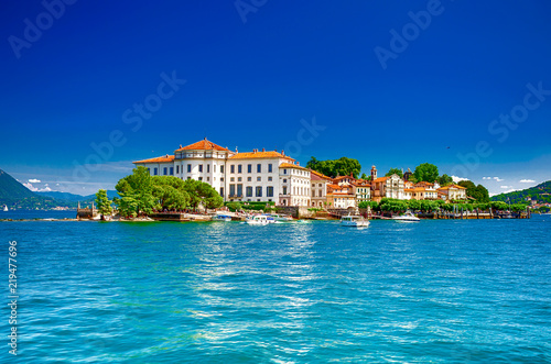 Keuken foto achterwand Europa Isola Bella, Borromäische Inseln, im Lago Maggiore, Piemont, italien