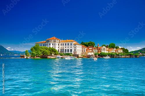 In de dag Europese Plekken Isola Bella, Borromäische Inseln, im Lago Maggiore, Piemont, italien