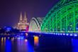 Köln, Dom und Hohenzollernbrücke
