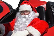 Santa Claus Sitting In His Bra...