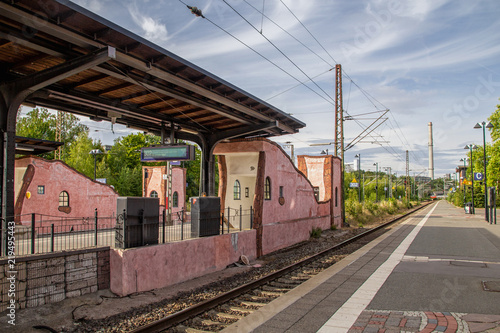 Obraz Bahnhof Uelzen - fototapety do salonu