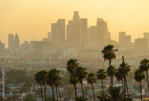 Fototapeta Los Angeles los-angeles-zachod-slonca