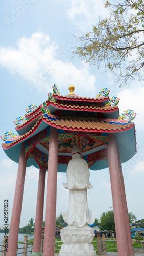 Foto op Plexiglas Bedehuis Guan Yin Temple at thailand