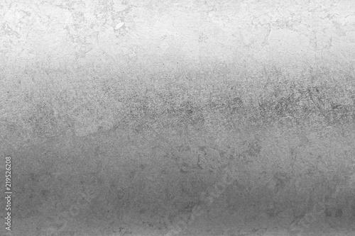 Fototapeta Silver foil metallic texture background wrapping paper wallpaper decoration element obraz