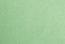 Green Recycled Paper Texture Background In Light Green.