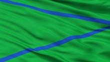 Patia City Flag, Country Colom...