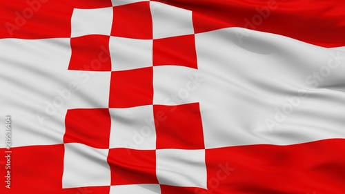 Fotografia, Obraz Hamm City Flag, Country Germany, Closeup View
