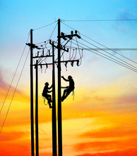 Silhouette Electrical Engineer...