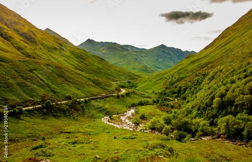 Nature Highlands Authentic Landscape Kyle Glenshiel Hiking Trails Scotland