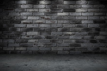 Stone Wall Dark Night Alley Qu...