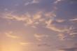 Leinwandbild Motiv beautiful sky gradient quiet calm heaven nature background