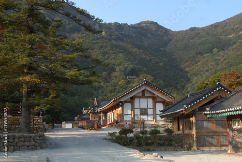 Keuken foto achterwand Oude gebouw Naesosa Buddhist Temple