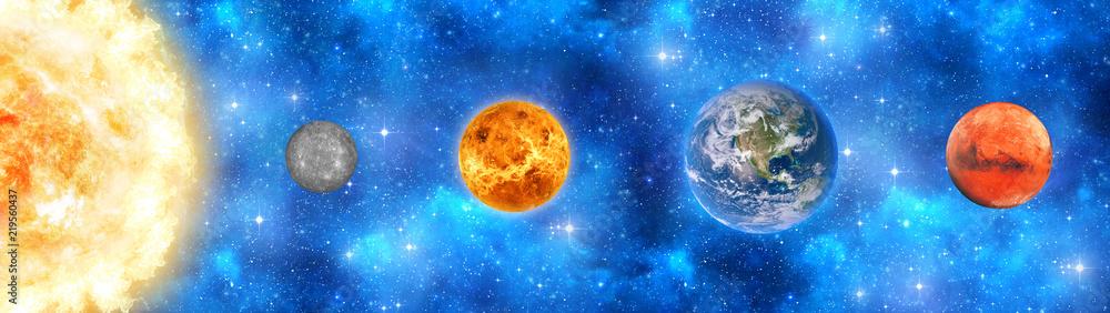 Fototapeta Солнечная система