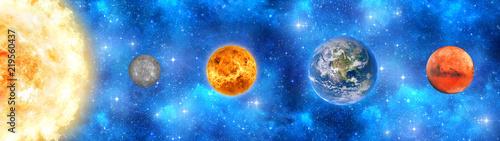 Fototapeta Солнечная система obraz